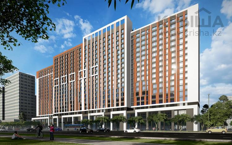 1-комнатная квартира, 36.28 м², Кабанбай батыра 51 за ~ 9.8 млн 〒 в Нур-Султане (Астана)