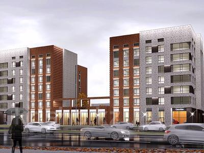 2-комнатная квартира, 64.72 м², 22-4 улица за ~ 19.7 млн 〒 в Нур-Султане (Астана), Есиль р-н