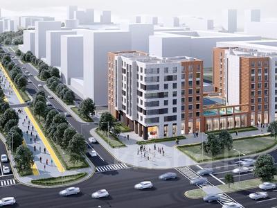 2-комнатная квартира, 64.72 м², 22-4 улица за ~ 19.7 млн 〒 в Нур-Султане (Астана), Есиль р-н — фото 7