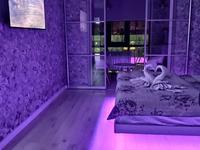 1-комнатная квартира, 40 м², 11/17 этаж по часам, Толе би — Ауэзова за 2 500 〒 в Алматы, Алмалинский р-н