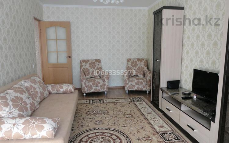 2-комнатная квартира, 45 м², 2/5 этаж посуточно, мкр Казахфильм, Исиналиева 26 за 8 500 〒 в Алматы, Бостандыкский р-н