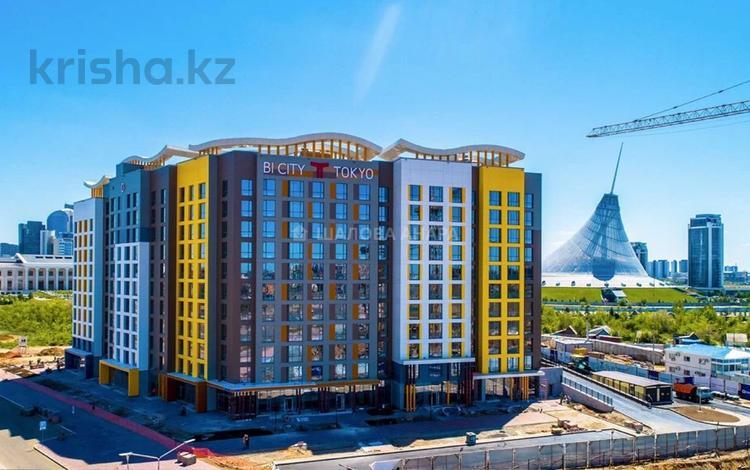 4-комнатная квартира, 128.8 м², 7/12 этаж, Каима мухамедханова 4А за 47 млн 〒 в Нур-Султане (Астана), Есиль р-н