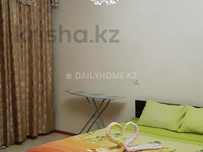1-комнатная квартира, 43 м², 3/8 этаж посуточно, мкр Самал-2 за 9 000 〒 в Алматы, Медеуский р-н
