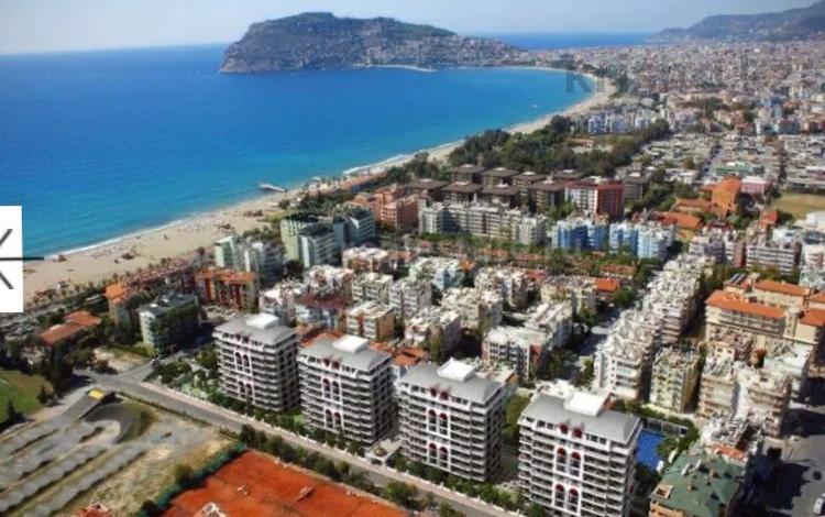 3-комнатная квартира, 110 м², 2/7 этаж помесячно, Alanya центр Sadullahoğlu за 800 000 〒 в