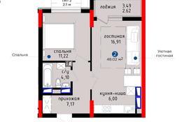 2-комнатная квартира, 48.02 м², 16/19 этаж, Туран — №24 за 20.3 млн 〒 в Нур-Султане (Астане), Есильский р-н