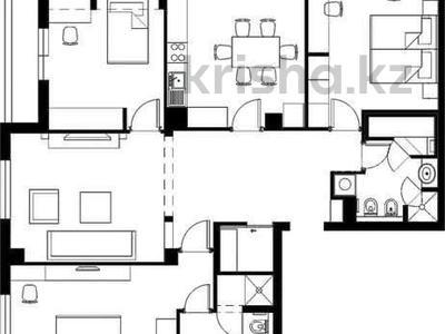 4-комнатная квартира, 125 м², 13/25 этаж, Каблукова — проспект Аль-Фараби за 93 млн 〒 в Алматы, Бостандыкский р-н — фото 9