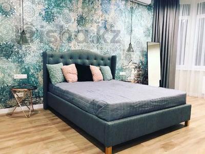 2-комнатная квартира, 78 м², 9/32 этаж на длительный срок, Байтурсынова 1 за 250 000 〒 в Нур-Султане (Астане), Алматы р-н