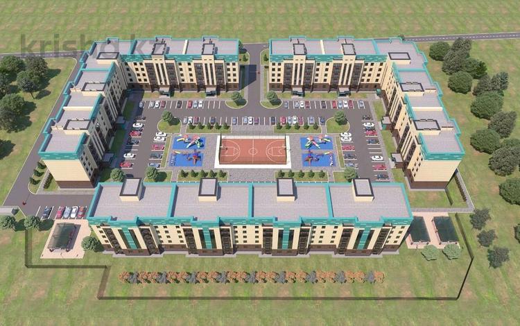1-комнатная квартира, 43.8 м², 2/5 этаж, мкр. Батыс-2, Мангилик ел — Г. Жубановой за 7.5 млн 〒 в Актобе, мкр. Батыс-2