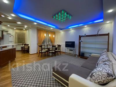 2-комнатная квартира, 76 м², 3/21 этаж помесячно, Кабанбай батыра 87 — проспект Абылай Хана за 260 000 〒 в Алматы, Алмалинский р-н