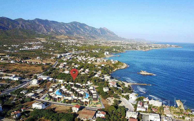 2-комнатная квартира, 65 м², 1/3 этаж, Северный Кипр — Кирения(Гирне) за 40.7 млн 〒