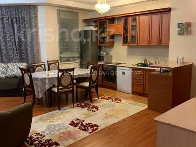 2-комнатная квартира, 80 м², 6/22 этаж помесячно, Достык 97 за 250 000 〒 в Алматы, Медеуский р-н — фото 4