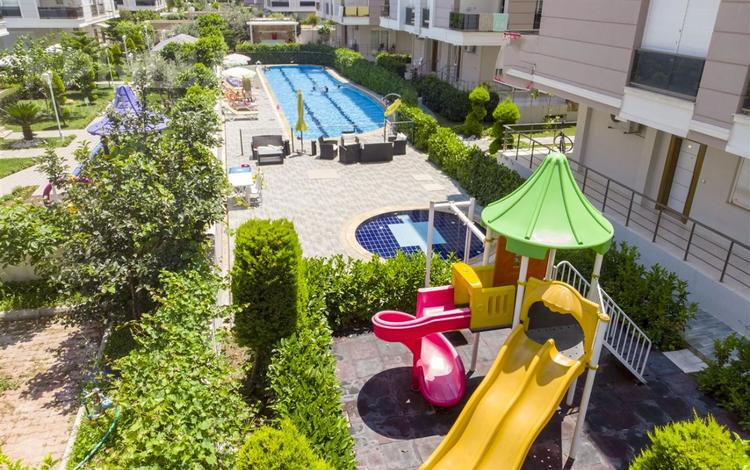 2-комнатная квартира, 70 м², 1/4 этаж, Konyaaltı Hurma 252 за ~ 23.7 млн 〒 в Анталье
