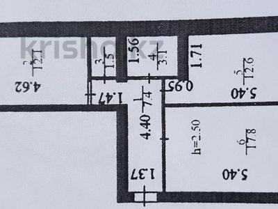 2-комнатная квартира, 54.5 м², 3/6 этаж, 187 27/1 за 17 млн 〒 в Нур-Султане (Астана), Сарыарка р-н — фото 12