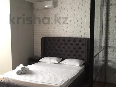 1-комнатная квартира, 56 м² посуточно, Жарокова 137/1блокГ2 за 15 000 〒 в Алматы, Бостандыкский р-н