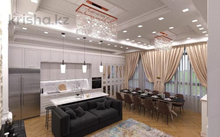 5-комнатная квартира, 230 м², 7/7 этаж помесячно, Тайманова 136 за 2 млн 〒 в Алматы, Медеуский р-н