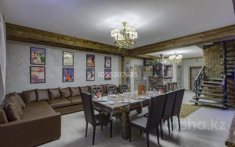 4-комнатный дом посуточно, 170 м², 27 сот., Керей Жанибек Хандар 452 за 300 000 〒 в Алматы, Медеуский р-н