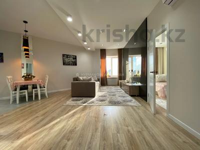 2-комнатная квартира, 75 м², 9/20 этаж на длительный срок, Снегина 32/1 за 430 000 〒 в Алматы, Медеуский р-н