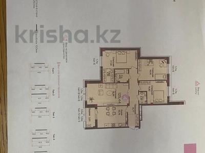 4-комнатная квартира, 125 м², 11/11 этаж, Улы дала 5/2 за 62 млн 〒 в Нур-Султане (Астане), Есильский р-н