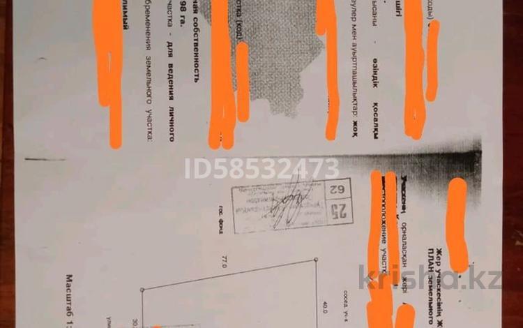 Участок 28 соток, Наурызбайский р-н, мкр Каргалы за 240 млн 〒 в Алматы, Наурызбайский р-н