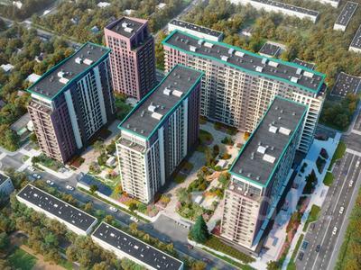 2-комнатная квартира, 55 м², 3 этаж, мкр Алмагуль, Гагарина 233 за 34.2 млн 〒 в Алматы, Бостандыкский р-н — фото 2
