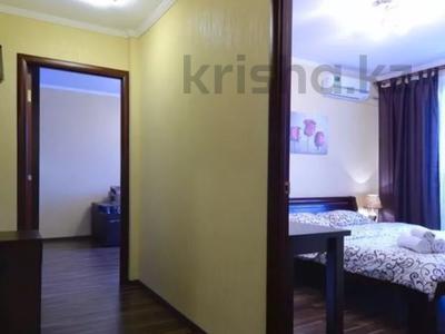 1-комнатная квартира, 57 м², 10/18 этаж посуточно, Солодовникова 21 за 8 000 〒 в Алматы, Бостандыкский р-н
