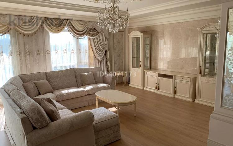 5-комнатная квартира, 220 м², 6/22 этаж, мкр Мирас, Аскарова 8 — проспект Аль-Фараби за 220 млн 〒 в Алматы, Бостандыкский р-н