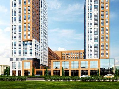 1-комнатная квартира, 48.76 м², Айнакол 66/1 за ~ 9.8 млн 〒 в Нур-Султане (Астане), Алматы р-н