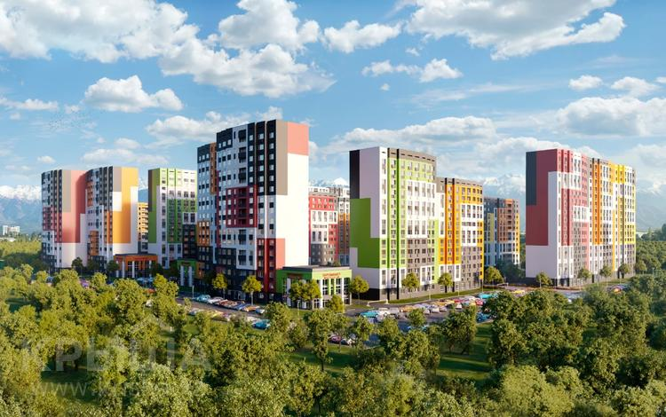 3-комнатная квартира, 79 м², мкр Калкаман-1, Абишева за ~ 21.9 млн 〒 в Алматы, Наурызбайский р-н