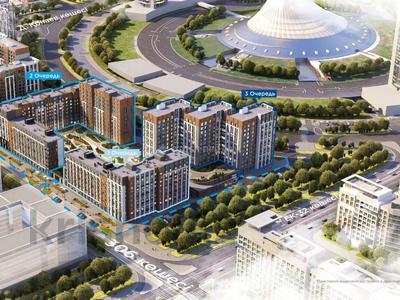 2-комнатная квартира, 64.13 м², 306 — ЕК-32 за ~ 23.8 млн 〒 в Нур-Султане (Астана), Есиль р-н — фото 12