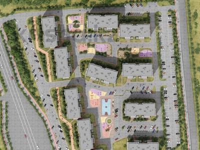 1-комнатная квартира, 45.6 м², 6/12 этаж, Алатауская трасса за 16.5 млн 〒 в Алматы