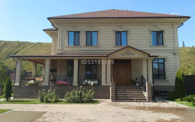 6-комнатный дом, 536 м², 20 сот., мкр Каргалы за 500 млн 〒 в Алматы, Наурызбайский р-н