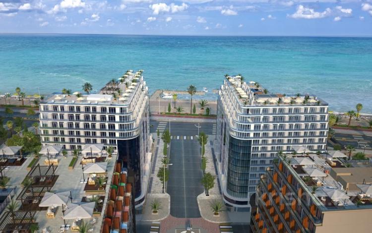 1-комнатная квартира, 36.17 м², 11/16 этаж, Адлиа 1 за 17.5 млн 〒 в Батуми