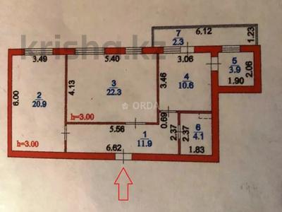 2-комнатная квартира, 76 м², 4/10 этаж помесячно, Е-755 ул 11 — Кайыма Мухамедханова за 140 000 〒 в Нур-Султане (Астана), Есиль р-н — фото 10