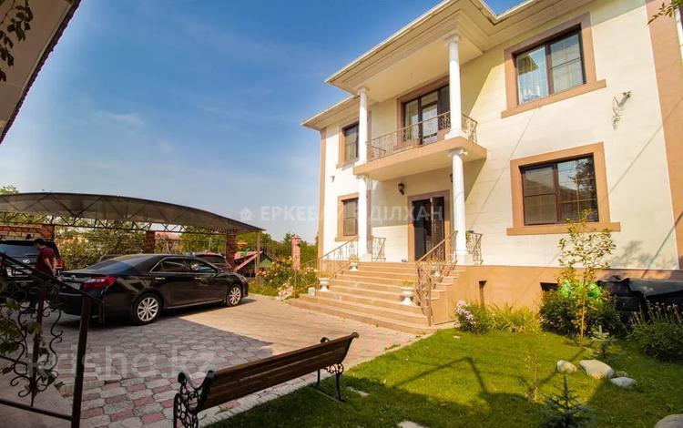 7-комнатный дом, 375 м², 9 сот., мкр Ерменсай, Аль-Фараби бн — Ремизовка за 155 млн 〒 в Алматы, Бостандыкский р-н