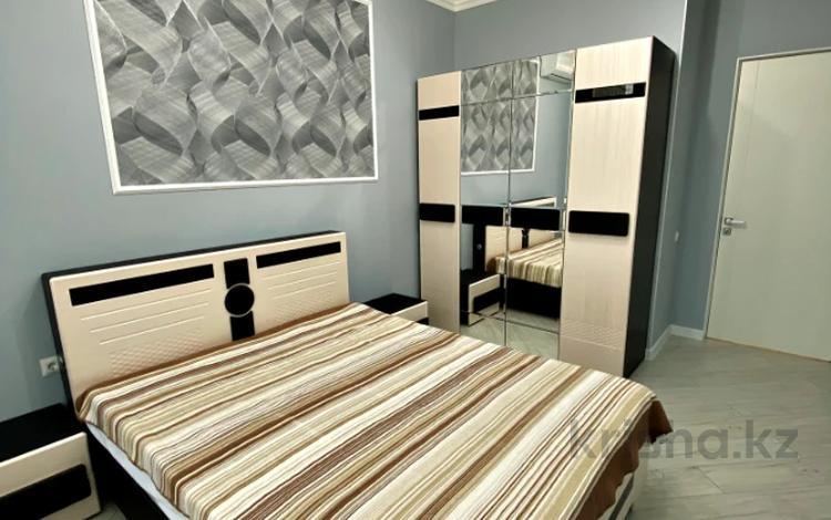 2-комнатная квартира, 70 м², 6/12 этаж посуточно, Алиби Жангелдин 67 за 25 000 〒 в Атырау
