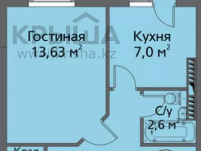 1-комнатная квартира, 37 м², 3/6 этаж, 32Б мкр, 32Б мкр 15 за 6.8 млн 〒 в Актау, 32Б мкр