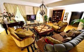 5-комнатный дом помесячно, 400 м², Ладушкина — Оспанова за 1.2 млн 〒 в Алматы, Медеуский р-н