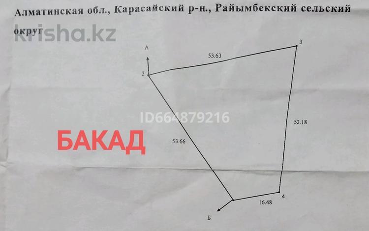 Участок 17 соток, Алматы за 17 млн 〒