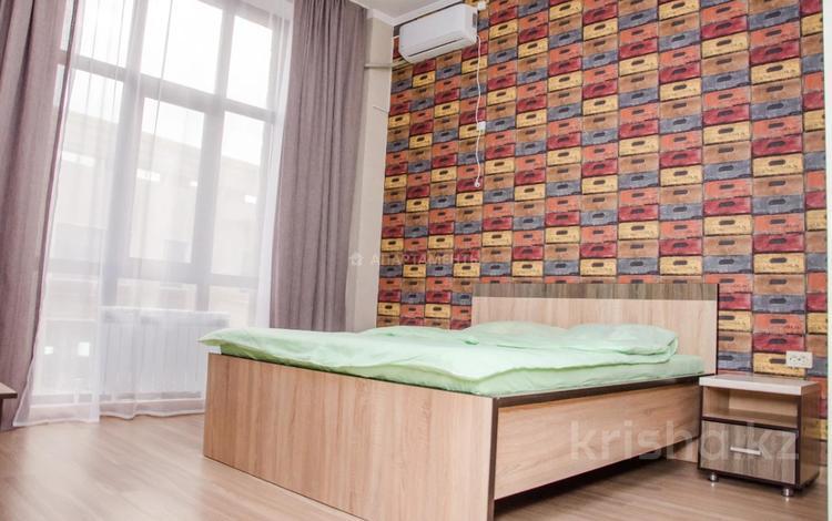 1-комнатная квартира, 30 м², 2/12 этаж посуточно, 11-й мкр 144б/2 за 7 999 〒 в Актобе, мкр 11