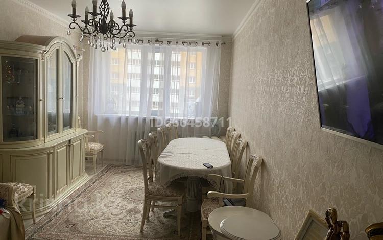 3-комнатная квартира, 91.6 м², 2/9 этаж, Рыскулбекова за 35 млн 〒 в Нур-Султане (Астане), Алматы р-н