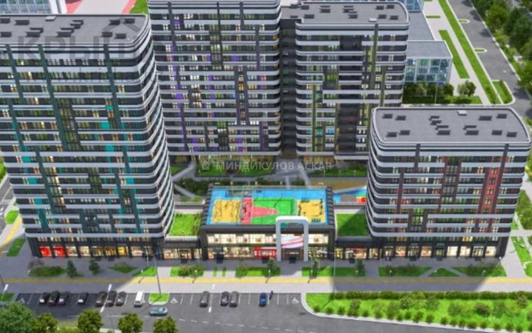 1-комнатная квартира, 46.63 м², 6/16 этаж, Туран 50 за 15 млн 〒 в Нур-Султане (Астана), Есиль р-н