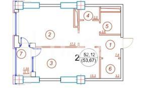 2-комнатная квартира, 53 м², 9/12 этаж, Торайгырова — Мустафина за 23.5 млн 〒 в Алматы, Бостандыкский р-н