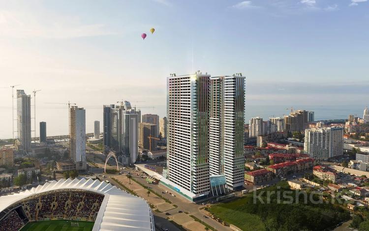 2-комнатная квартира, 50.1 м², J.Shartava street 16 за ~ 18.2 млн 〒 в Батуми