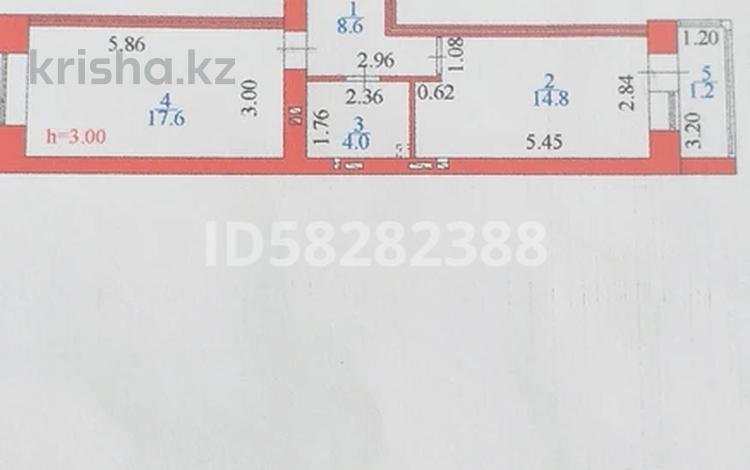 1-комнатная квартира, 47 м², 2/10 этаж, Косшыгулулы 8/2 — Жамбыла за 18.4 млн 〒 в Нур-Султане (Астана), Сарыарка р-н