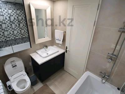 2-комнатная квартира, 50 м², 17/25 этаж на длительный срок, Нажимеденова 4 за 230 000 〒 в Нур-Султане (Астане), Есильский р-н
