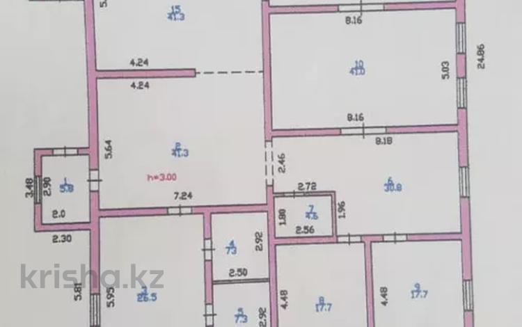 11-комнатный дом, 359.3 м², 57 сот., Участок за 180 млн 〒 в Бельбулаке (Мичурино)