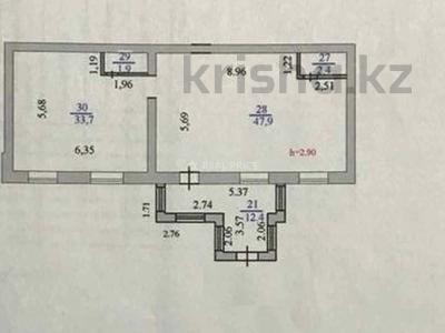 Помещение площадью 98.3 м², Шаймердена Косшыгулулы 13/5 за 25 млн 〒 в Нур-Султане (Астане), Сарыарка р-н