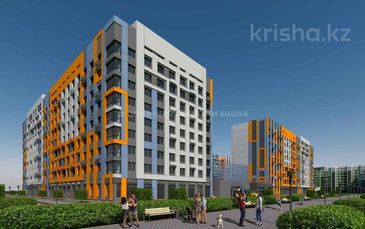 3-комнатная квартира, 85.69 м², Толе би — Е-10 за ~ 26 млн 〒 в Нур-Султане (Астана), Есиль р-н