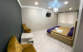 1-комнатная квартира, 37 м², 1/5 этаж посуточно, проспект Металлургов — Республики за 7 000 〒 в Темиртау