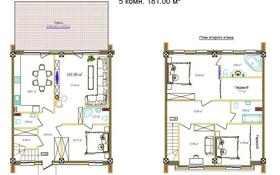 5-комнатный дом, 181 м², 0.5 сот., мкр Рахат, Нажимеденова 76 за 65 млн 〒 в Алматы, Наурызбайский р-н
